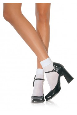 White Cuffed Anklets for Women Stripper Plus Clubwear Stripper Clothes, Exotic Dancewear, Sexy Club Wear, Extreme Platform Shoes