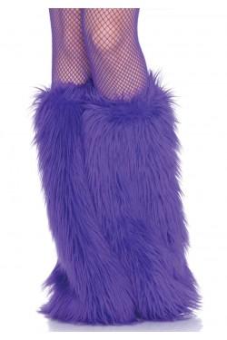 Fun Fur Leg Warmers Stripper Plus Clubwear Stripper Clothes, Exotic Dancewear, Sexy Club Wear, Extreme Platform Shoes