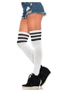 Rib Knit Thigh High Socks Stripper Plus Clubwear Stripper Clothes, Exotic Dancewear, Sexy Club Wear, Extreme Platform Shoes