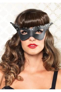 Bad Girl Studded Mask Stripper Plus Clubwear Stripper Clothes, Exotic Dancewear, Sexy Club Wear, Extreme Platform Shoes