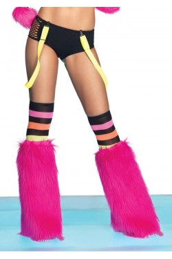 Neon Color Suspenders Stripper Plus Clubwear Stripper Clothes, Exotic Dancewear, Sexy Club Wear, Extreme Platform Shoes