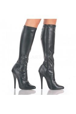 Domina High Heel Knee Boot Stripper Plus Clubwear Stripper Clothes, Exotic Dancewear, Sexy Club Wear, Extreme Platform Shoes