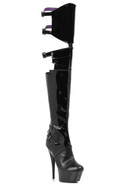 Felicia 6 Inch Heel Thigh High Platform Boot Stripper Plus Clubwear Stripper Clothes, Exotic Dancewear, Sexy Club Wear, Extreme Platform Shoes