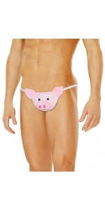 Mens Pig Pouch