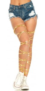 Gold Leg Wraps