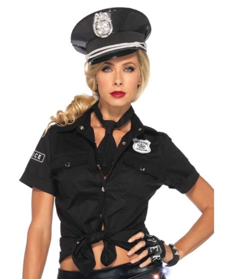Female cop stripper uniforms — photo 6
