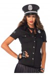 Police Woman Costume Shirt at Stripper Plus Clubwear, Stripper Clothes, Exotic Dancewear, Sexy Club Wear, Extreme Platform Shoes