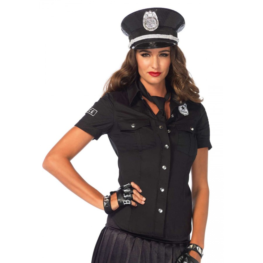 Cop stripper and police outdoor oficer of 10