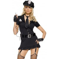 Dirty Cop Adult Womens Costume