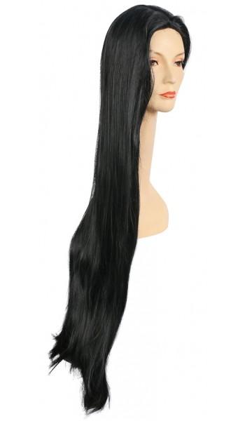 Long Cher Costume Wig - Black