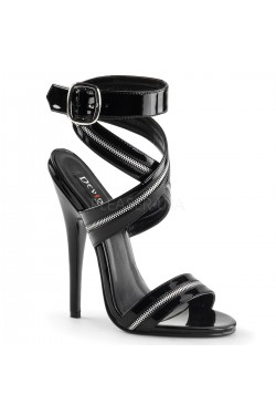 Zippered Domina High Heel Sandal Stripper Plus Clubwear Stripper Clothes, Exotic Dancewear, Sexy Club Wear, Extreme Platform Shoes