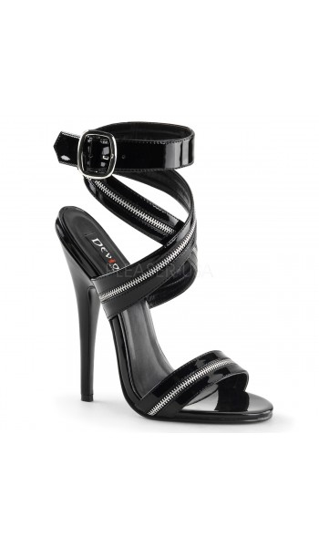 Zippered Domina High Heel Sandal at Stripper Plus Clubwear, Stripper Clothes, Exotic Dancewear, Sexy Club Wear, Extreme Platform Shoes