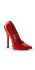 Classic Red 6 Inch High Heel Pump