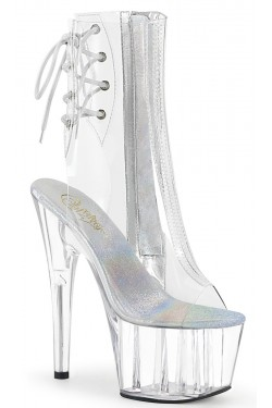 Clear Platform Adore Ankle Boot