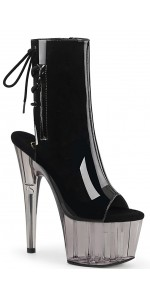 Smoke Platform Adore Black Patent Ankle Boot