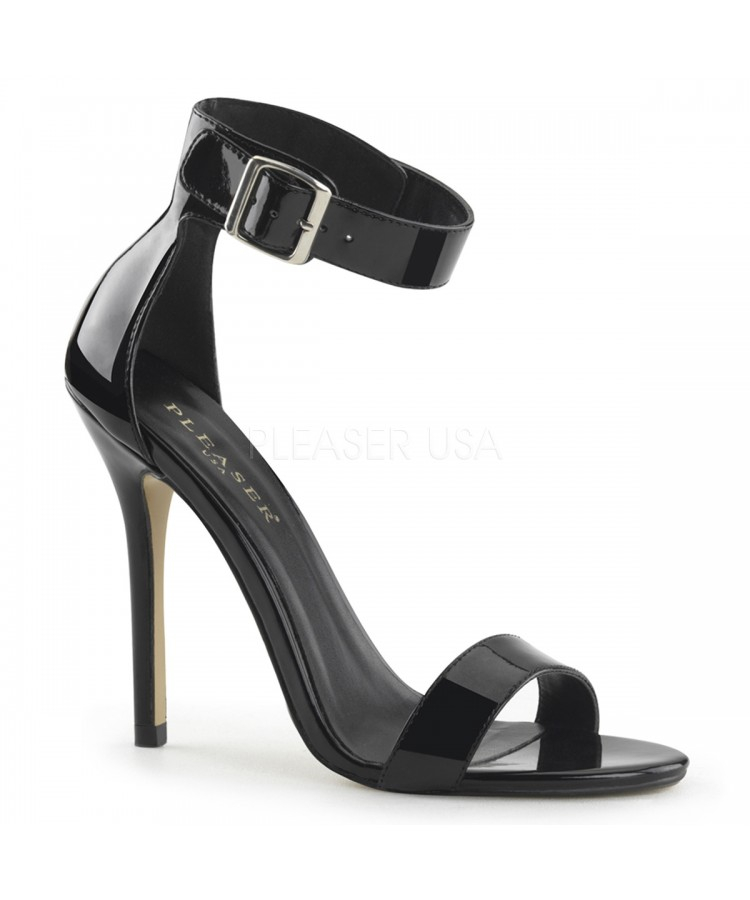 2ac5214a33 Amuse Black Ankle Strap Sandal at Stripper Plus Clubwear, Stripper Clothes,  Exotic Dancewear,